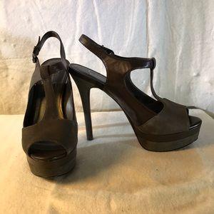 Jessica Simpson high heels platform sandals Sz 7.5